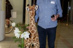 Ulrich mit Giraffe